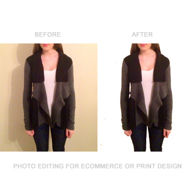 E-commerce Photo Editing